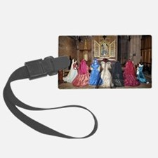 Her Majesty and Ladies at Prayer Luggage Tag
