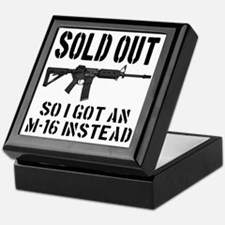 SOLD OUT All So I Got An M-16 Instead Keepsake Box
