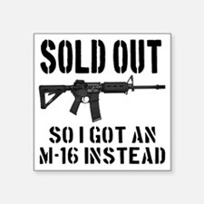 "SOLD OUT All So I Got An M- Square Sticker 3"" x 3"""