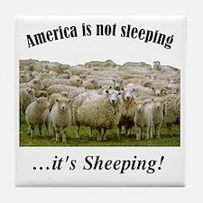 ....Sheeple! Tile Coaster