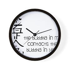 Buddha In Me Wall Clock