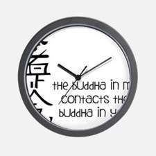 Buddha In Me Wall Clock