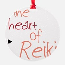 The Heart Of Reiki Ornament