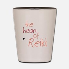 The Heart Of Reiki Shot Glass