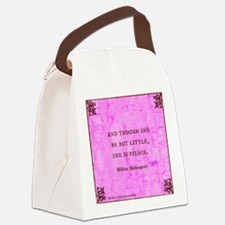 She is fierce Canvas Lunch Bag
