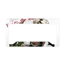 Love Lost in a Boat- Confused License Plate Holder