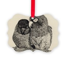 Conure Love Ornament