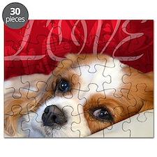 Cavalier King charles Spaniel Love Puzzle