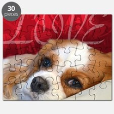 Cavalier King charles Spaniel Love Puzzle