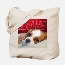Cavalier King charles Spaniel Love Tote Bag