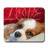 Cavalier king charles mouse mat Mouse Pads
