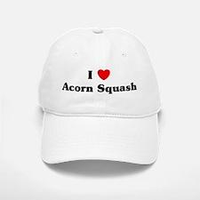 I love Acorn Squash Baseball Baseball Cap