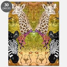 African Wildlife Puzzle