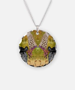 African Wildlife Necklace
