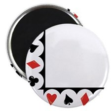 Playing Cards Corner Magnet