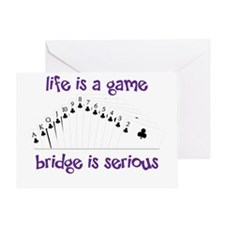 Life Is A Game Greeting Card