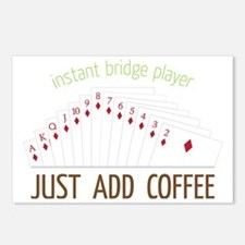Instant Bridge Player Postcards (Package of 8)