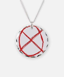Slenderman Operator Symbol Necklace