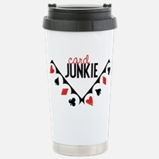 Card Junkie Travel Mug