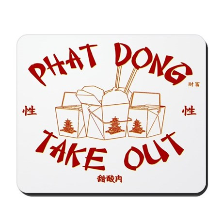 PHAT DONG TAKE OUT Mousepad