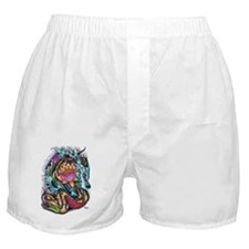 Brobeard Snake and Lotus Boxer Shorts