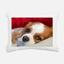 Blenheim Cavalier King C Rectangular Canvas Pillow