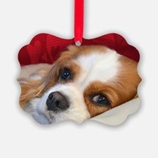 Blenheim Cavalier King Charles Sp Ornament