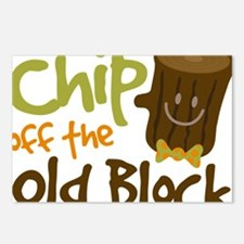 Chip Off The Old Block Postcards (Package of 8)