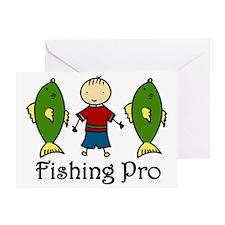 Fishing Pro Greeting Card