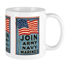 Join The Armed Forces Small Mug