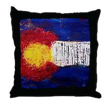 Colorado Flag Throw Pillow