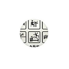 Smoking-ABA1 Mini Button