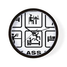 Smoking-ABA1 Wall Clock