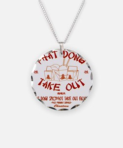 PHAT DONG TAKE OUT Necklace Circle Charm