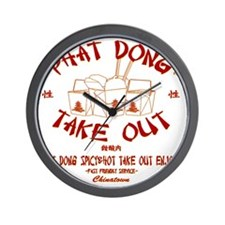 PHAT DONG TAKE OUT Wall Clock