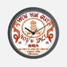 WUN HUN GUY Wall Clock