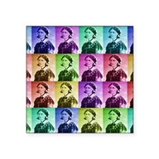 """Florence Nightengale blanke Square Sticker 3"""" x 3"""""""