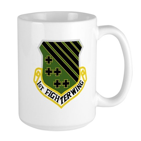 1st Fighter Wing Large Mug