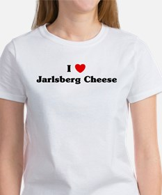 I love Jarlsberg Cheese Tee