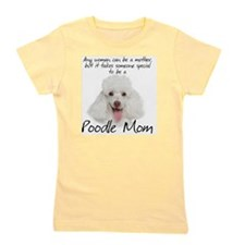 Poodle Mom Girl's Tee