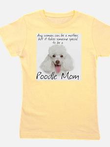 Poodle Mom Girl's Tee