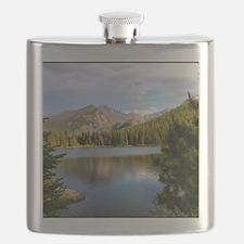 Bear Lake, Rocky Mountain National Park Flask