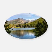 Bear Lake, Rocky Mountain National Oval Car Magnet