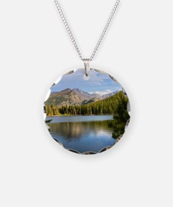 Bear Lake, Rocky Mountain Na Necklace