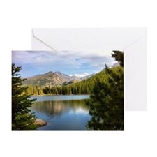 Bear Lake, Rocky Mountain National P Greeting Card