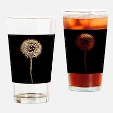 Dreamy Dandelion Drinking Glass