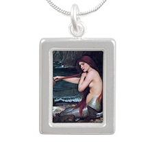 mw_smal_serving_666_H_F Silver Portrait Necklace