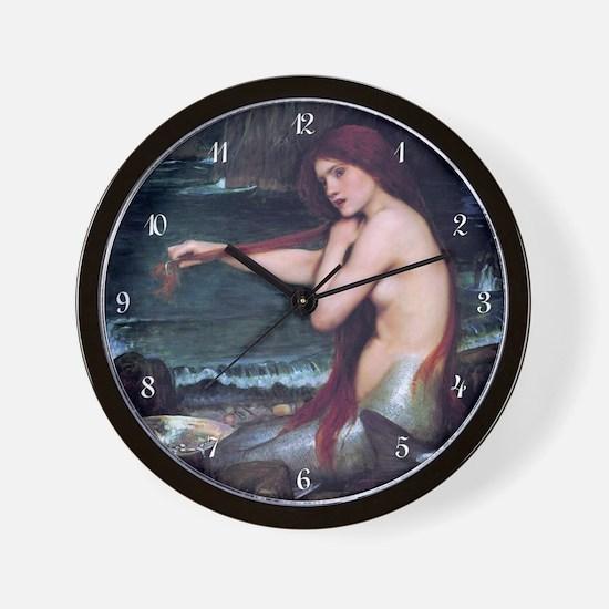 mw_wooden  Wall Clock