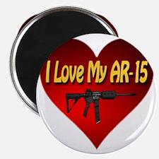 I Love My AR-15 Magnet