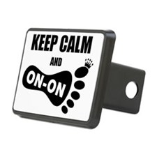 Keep Calm and On-On Foot Hitch Cover